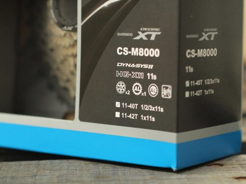 cassette shimano xt m8000