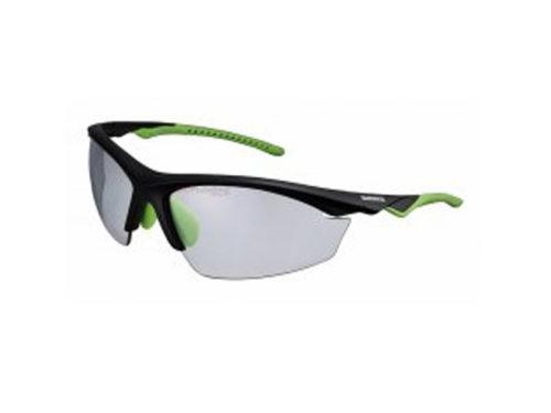 Gafa Shimano EQX2 PH Negro Mate Verde