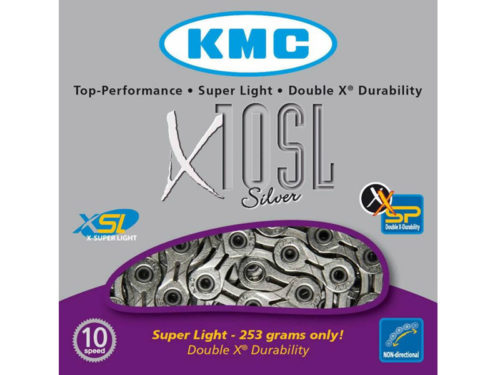 Cadena KMC X 10SL 10V Cromo