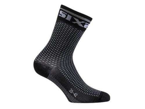 Calcetines SIX2 SHORT S CATA Negro