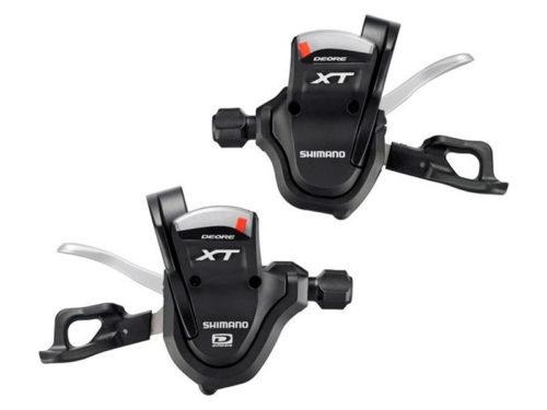 Mandos XT M-780 SHIMANO 10V con Abrazadera y display