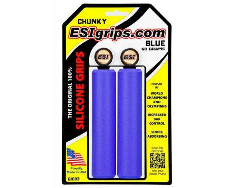 Puños-ESI-grips-Chunky-azul