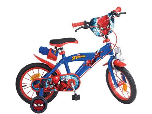 Bicicleta Spiderman 14 Pulgadas